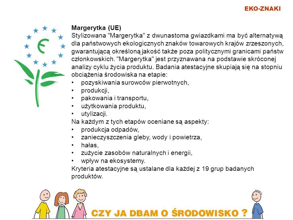 EKO-ZNAKI Margerytka (UE) Stylizowana