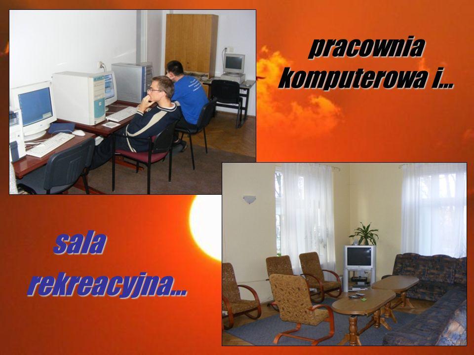 sala salarekreacyjna… pracownia komputerowa i…