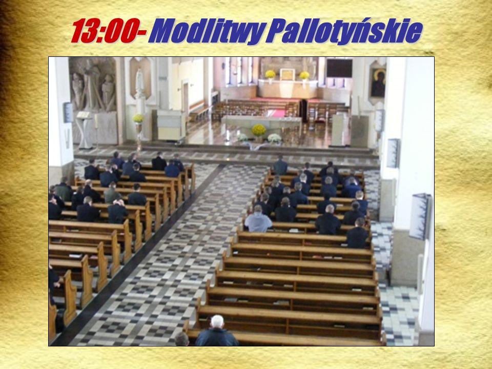 13:00- Modlitwy Pallotyńskie