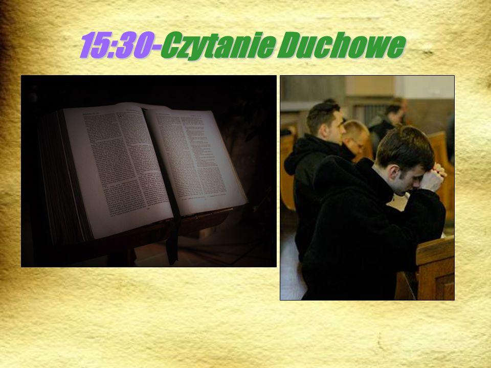 15:30-Czytanie Duchowe
