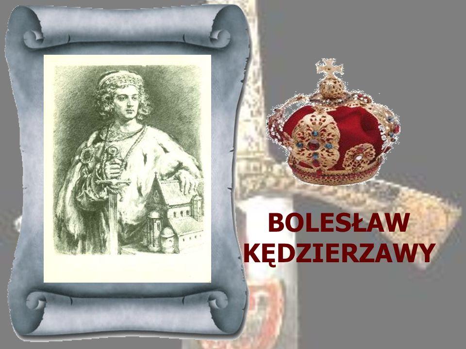 WŁADYSŁAW II 1138-1146 Najstarszy syn Bolesława Krzywoustego, z tytułu starszeństwa objął go po śmierci ojca - na podstawie jego statutu - władzę zwie