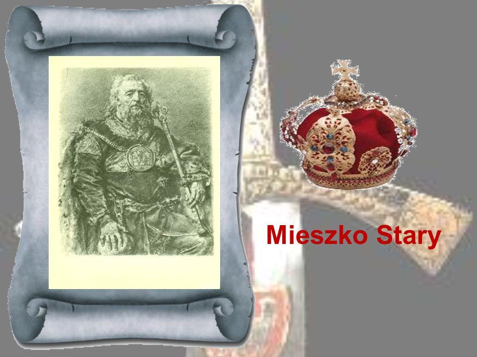 BOLESŁAW KĘDZIERZAWY 1146-1173 Drugi z kolei syn Bolesława Krzywoustego; otrzymał na mocy statutu ojca Mazowsze jako dzielnicę dziedziczną. Po wygnani