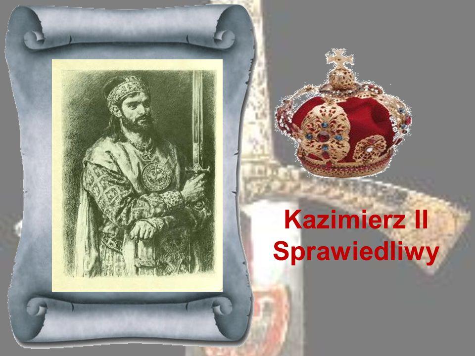 MIESZKO STARY 1173-1177 Trzeci z kolei syn Bolesława Krzywoustego, któremu na mocy statutu ojca przypadła jako dzielnica dziedziczna Wielkopolska. Po