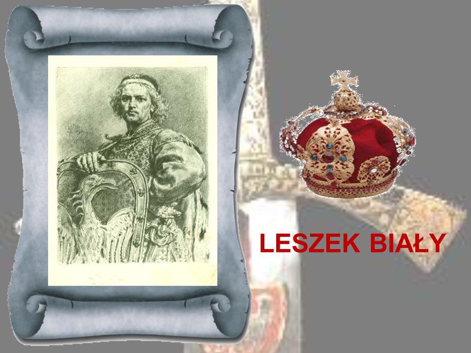 KAZIMIERZ SPRAWIEDLIWY 1177-1194 Najmłodszy syn Bolesława Krzywoustego, po śmierci brata Henryka objął bezpośrednie rządy w dzielnicy sandomierskiej.