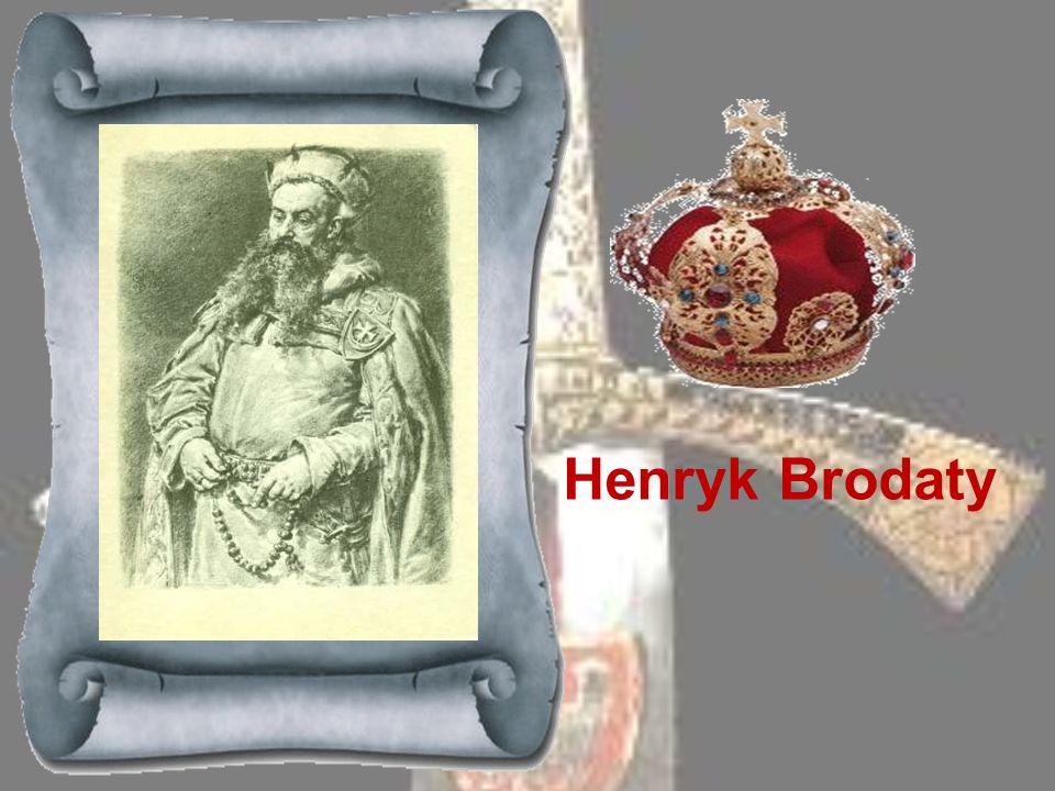 WŁADYSŁAW LASKONOGI 1202Syn Mieszka Starego, odziedziczył po ojcu dzielnicę Wielkopolską i na krótki czas (kilka miesięcy) zdobył władzę w Krakowie. W