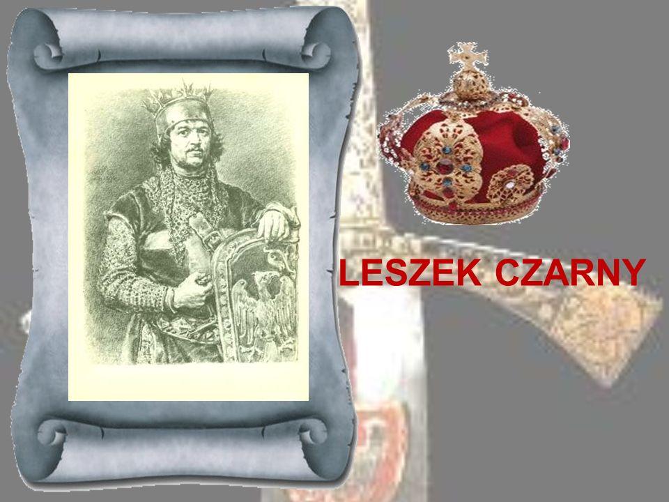 BOLESŁAW WSTYDLIWY 1243-1279Syn Leszka Białego, małoletni w chwili śmierci ojca, objął rządy w całej Małopolsce w r. 1243, gdy tron krakowski opustosz