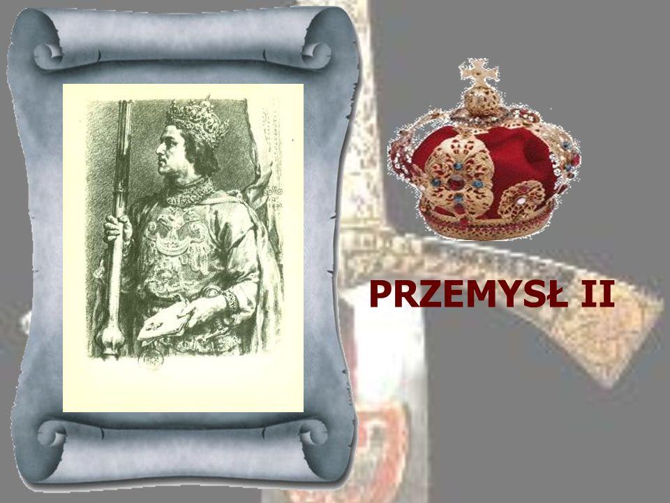 LESZEK CZARNY 1279-1288Książę sieradzki z mazowieckiej linii Piastów (prawnuk Bolesława Kędzierzawego), powołany został przez panów na tron krakowski