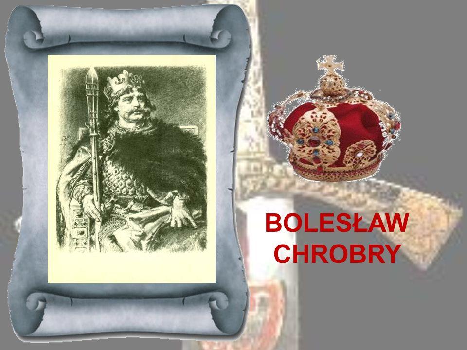 MIESZKO I ok. 960-992 Mieszko I był pierwszym historycznym władcą Polski. Przodkiem jego miał być legendarny Piast, dlatego pierwszą dynastię panującą