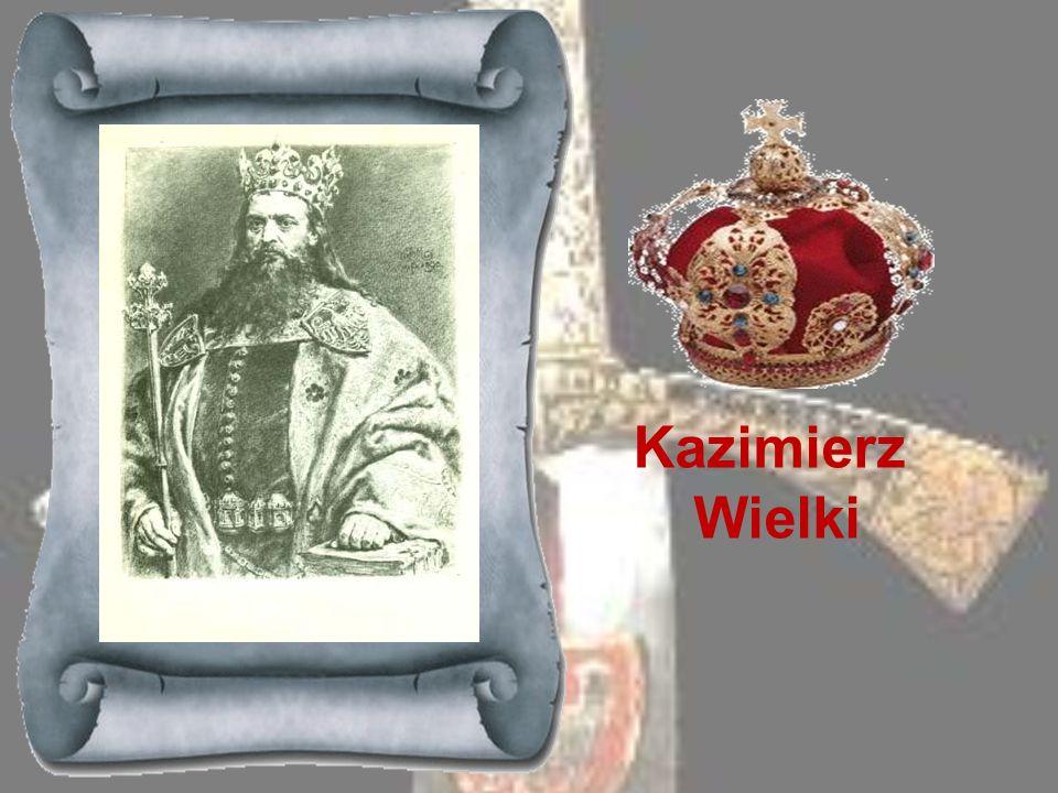 WŁADYSŁAW ŁOKIETEK 1306-1333 Książę z mazowieckiej linii Piastów, prawnuk Bolesława Kędzierzawego a brat Leszka Czarnego. Już po śmierci Leszka brał u