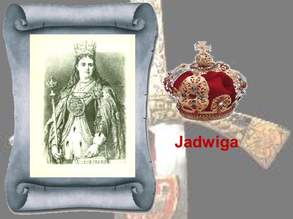 LUDWIK WĘGIERSKI 1370-1382Król węgierski z rodziny Andegawenów, syn Elżbiety Łokietkówny, siostry Kazimierza Wielkiego, przewidziany na tron polski, u