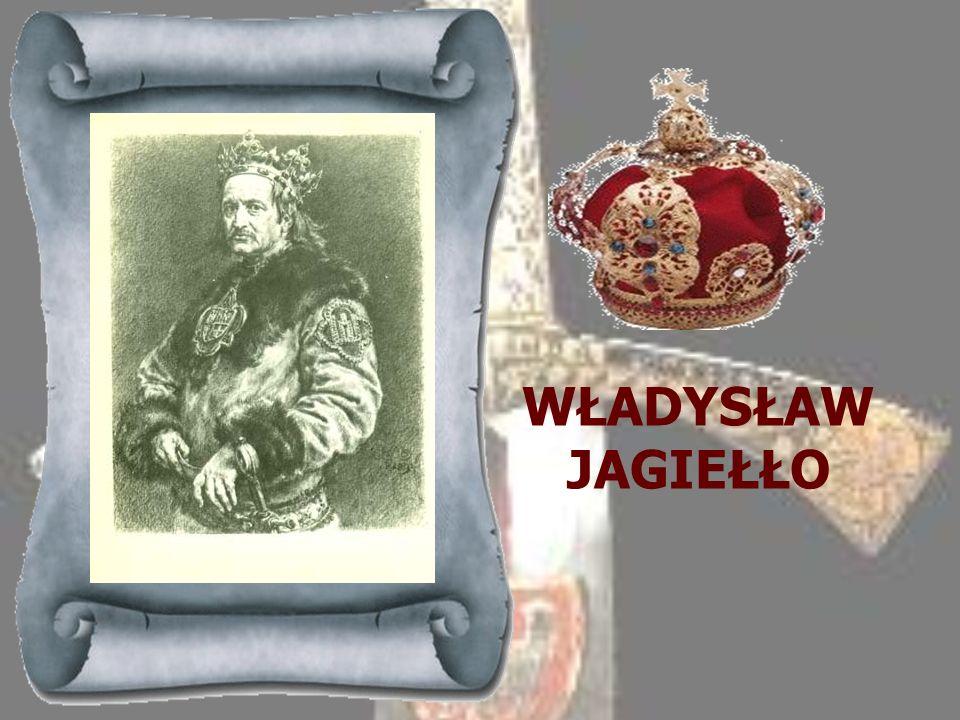 JADWIGA 1384-1399Młodsza córka króla Polski i Węgier Ludwika z rodu andegaweńskiego. Odziedziczyła tron po ojcu, ale do Polski przybyła i ukoronowana