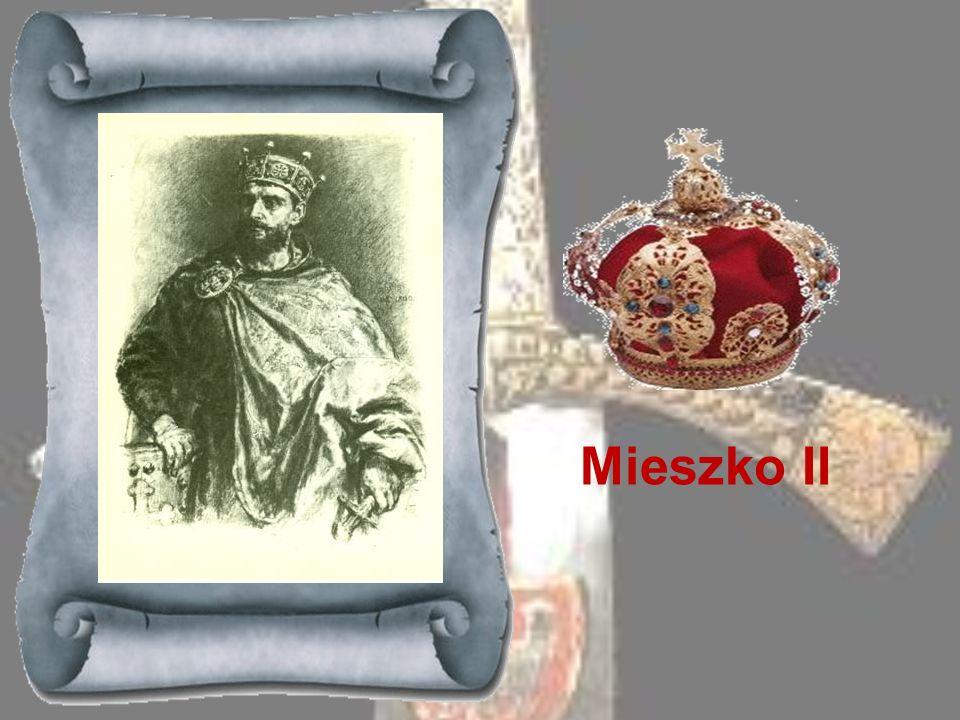BOLESŁAW CHROBRY 992-1025 Syn Mieszka I, skupił w swym ręku władzę w państwie polskim. W roku 1000 przyjmował w Gnieźnie cesarza niemieckiego Ottona I