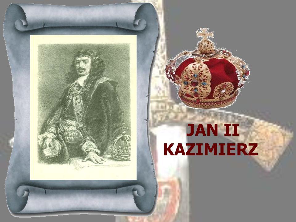 WŁADYSŁAW IV 1632-1648 Syn Zygmunta III Wazy, wybrany królem polskim po śmierci ojca. Władysław odziedziczył po ojcu pretensje do korony szwedzkiej, a