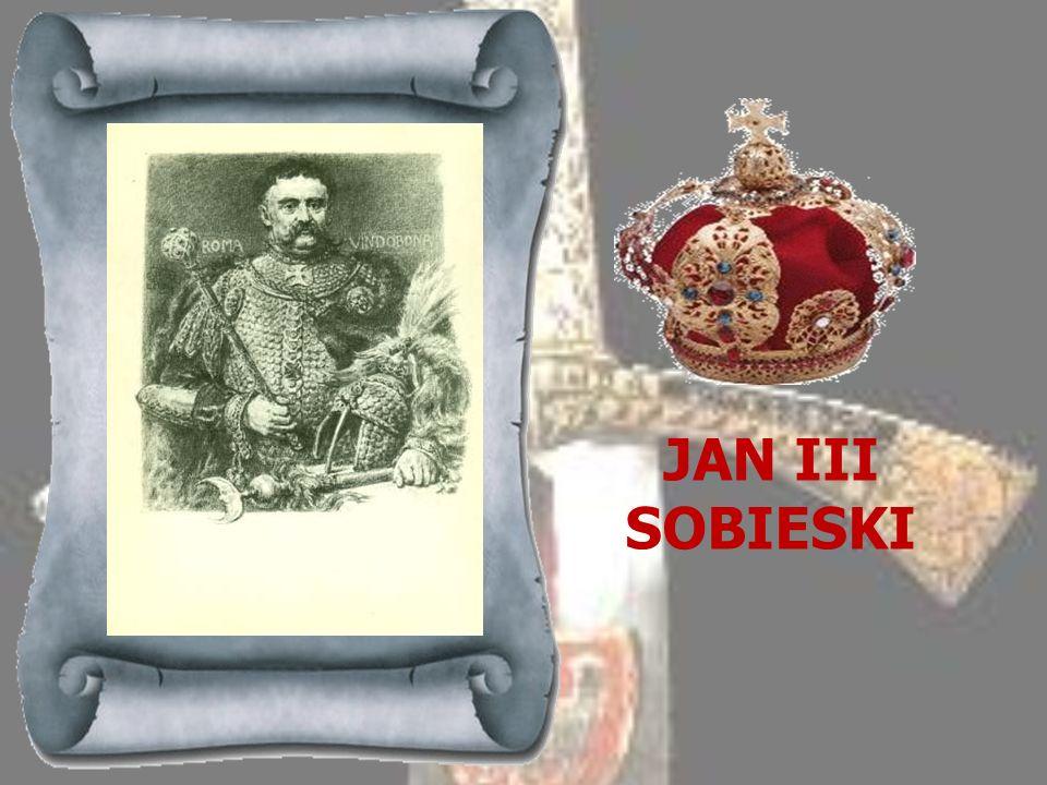 MICHAŁ KORYBUT WIŚNIOWIECKI 1669-1673 Po zrzeczeniu się tronu przez Jana Kazimierza zebrana na polu elekcyjnym szlachta obwołała królem Michała Korybu