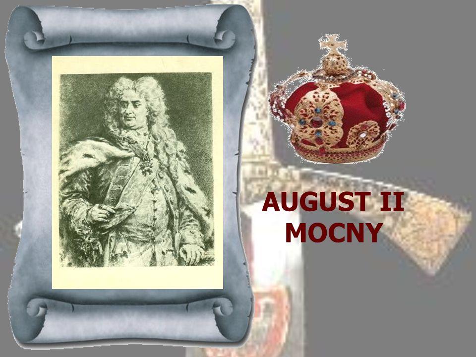 JAN III SOBIESKI 1674-1696 Hetman wielki koronny, znakomity wódz, opromieniony świeżym zwycięstwem nad Turkami pod Chocimem, obwołany został na polu e