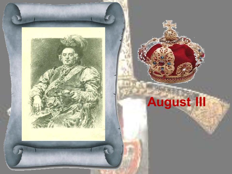 STANISŁAW LESZCZYŃSKI 1704-1709 i 1733-1735 Wojewoda poznański, w czasie wojny północnej stronnik króla szwedzkiego Karola XII. Gdy Karol XII pokonał