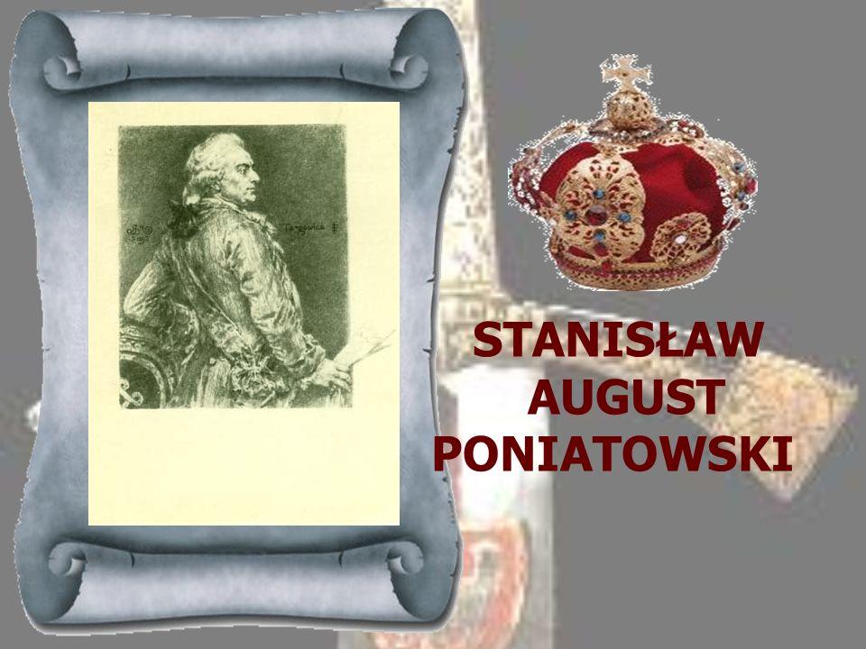 AUGUST III 1733-1763 Syn Augusta II, wprowadzony na tron polski wbrew woli większości wyborców na skutek interwencji zbrojnej wojsk saskich i rosyjski