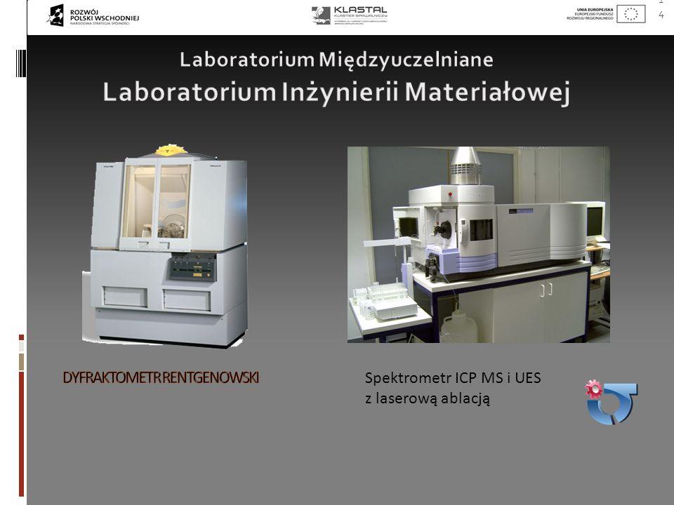 14 Spektrometr ICP MS i UES z laserową ablacją