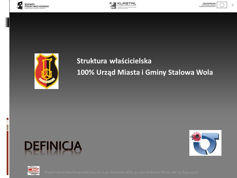 3 Regionalna Izba Gospodarcza, ul.1-go Sierpnia 26 b, 37-450 Stalowa Wola, tel.