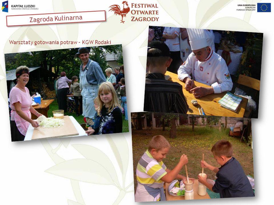 Warsztaty gotowania potraw – KGW Rodaki Zagroda Kulinarna