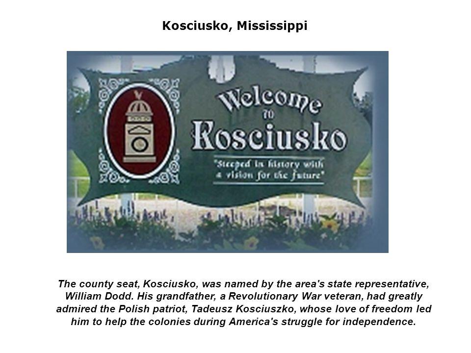 Towns, statues, streets, parks, bridges, universities named after Kościuszko in various countries (USA, Poland, Hungary, Serbia, Bielorussia) Washington D.C.