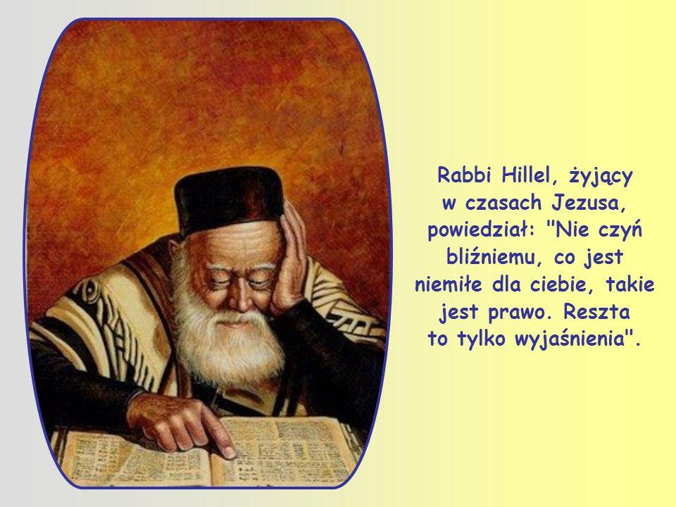 To zdanie znajduje się już w Starym Testamencie. Jezus, w odpowiedzi na podstępne pytanie, odwołuje się do wielkiej prorockiej i rabinicznej tradycji,