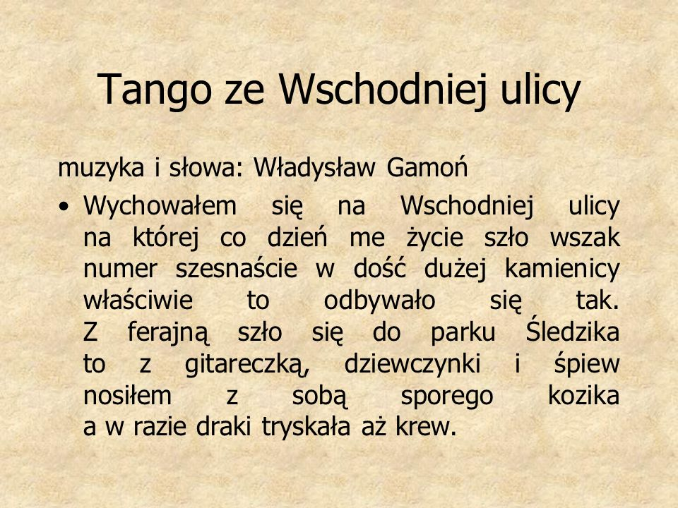 Tango c.d.