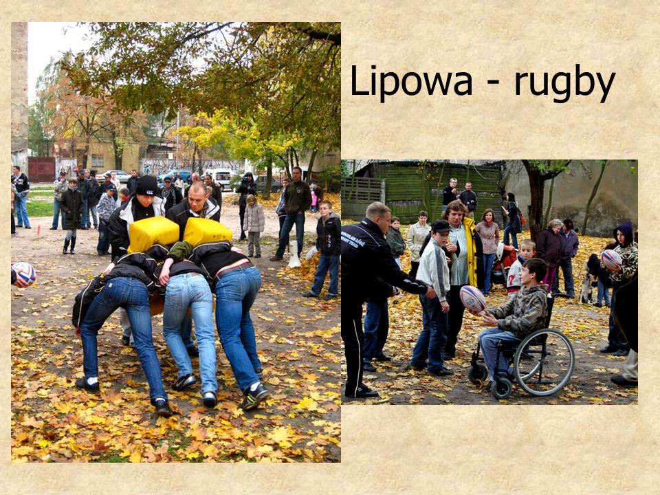 Lipowa - rugby