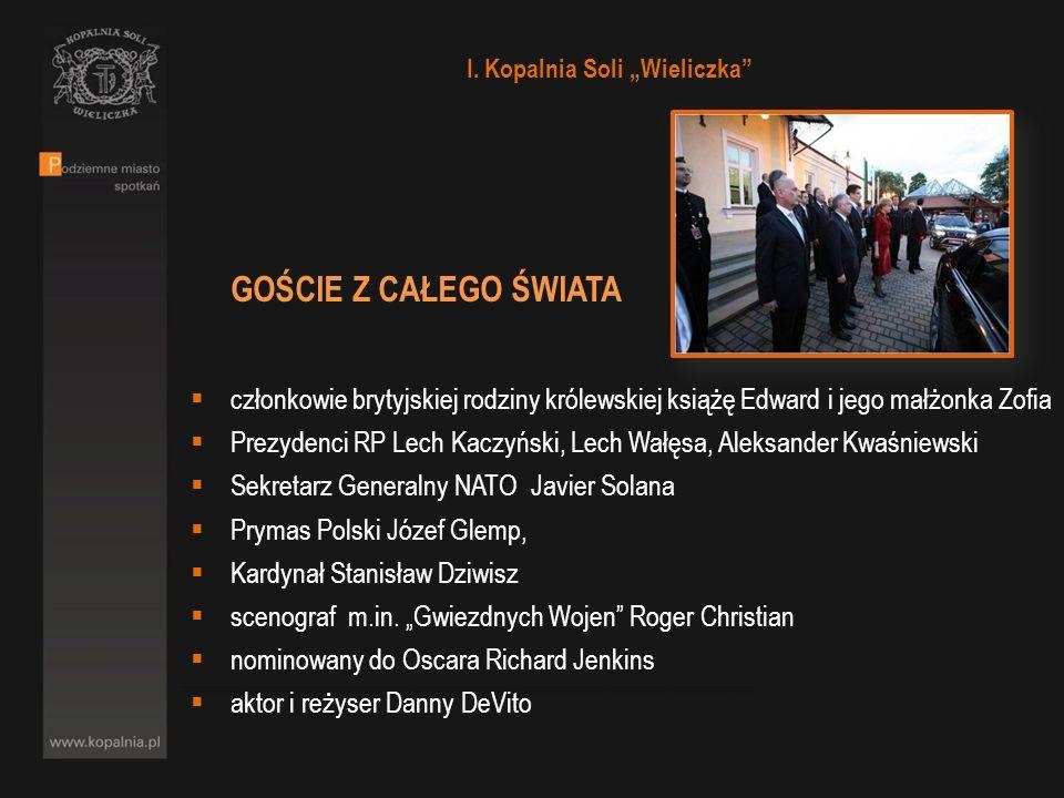 GOŚCIE Z CAŁEGO ŚWIATA członkowie brytyjskiej rodziny królewskiej książę Edward i jego małżonka Zofia Prezydenci RP Lech Kaczyński, Lech Wałęsa, Aleks