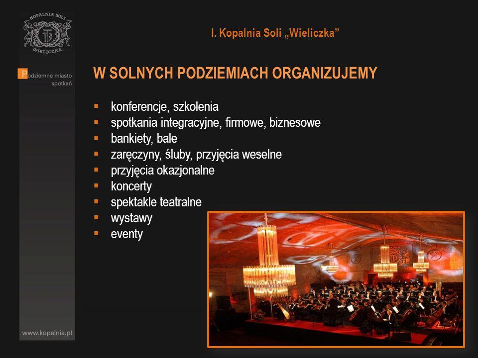 PODZIEMNE MIASTO SPOTKAŃ – CO NAS WYRÓŻNIA Kopalnia Soli w Wieliczce to zespół podziemnych wyrobisk składający się z 3 tys.