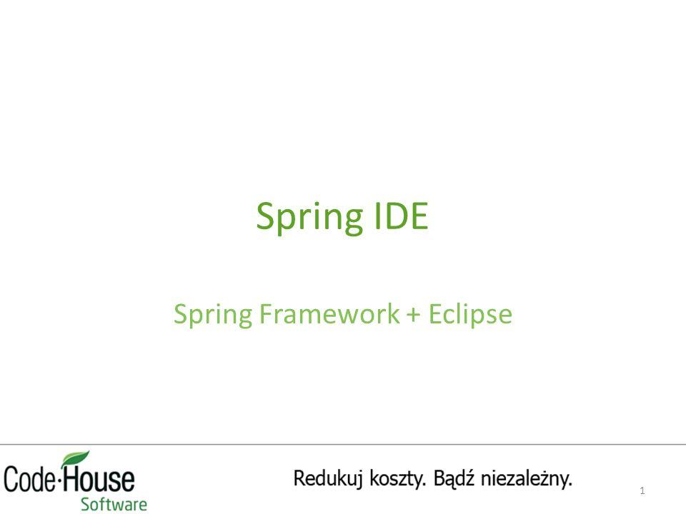 Spring IDE Spring Framework + Eclipse 1
