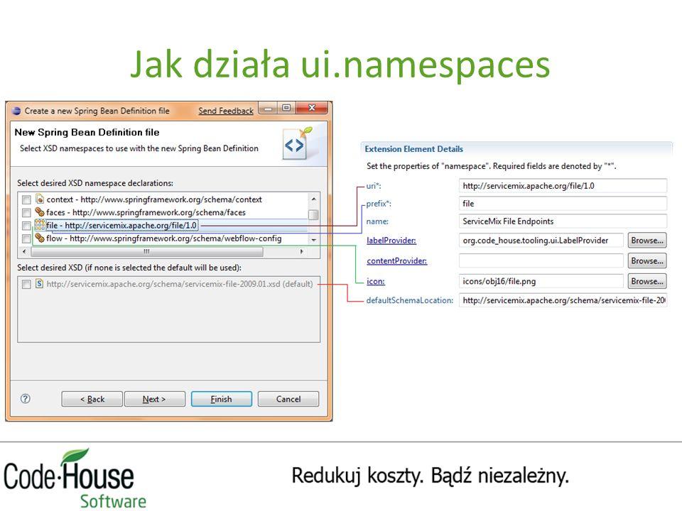 Jak działa ui.namespaces