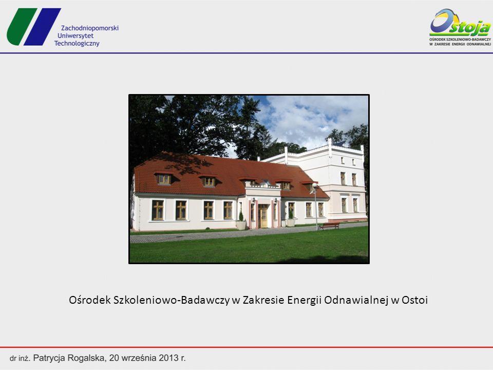 Zakres działań Ośrodka określony statutem: - Edukacja - Informacja - Prezentacja - Badania Odnawialnych Źródeł Energii