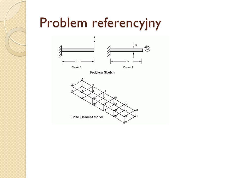 Problem referencyjny