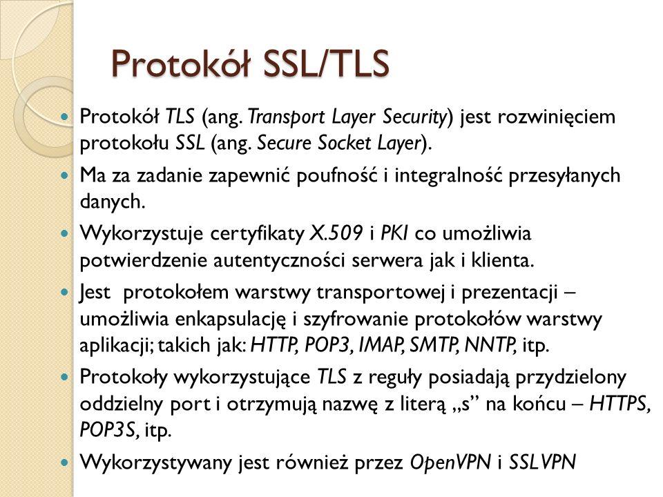 1994 r.– Netscape opracowuje SSL v1 – wersja wewnętrzna, niedostępna publicznie.