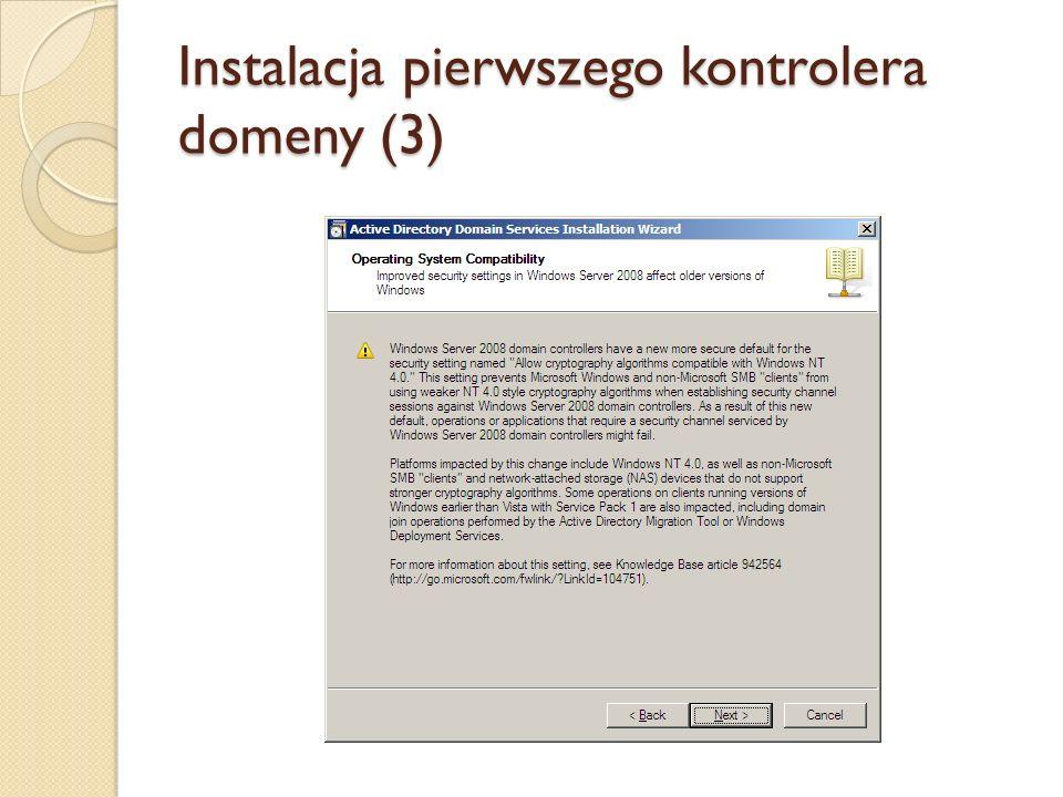 Instalacja pierwszego kontrolera domeny (3)
