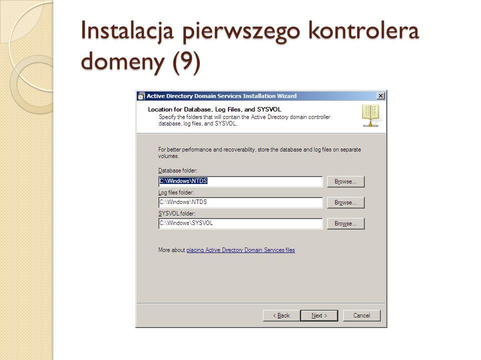 Instalacja pierwszego kontrolera domeny (9)