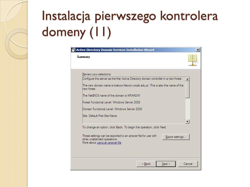 Instalacja pierwszego kontrolera domeny (11)