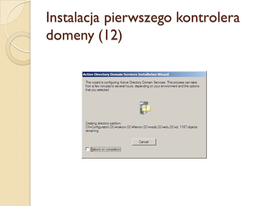 Instalacja pierwszego kontrolera domeny (12)