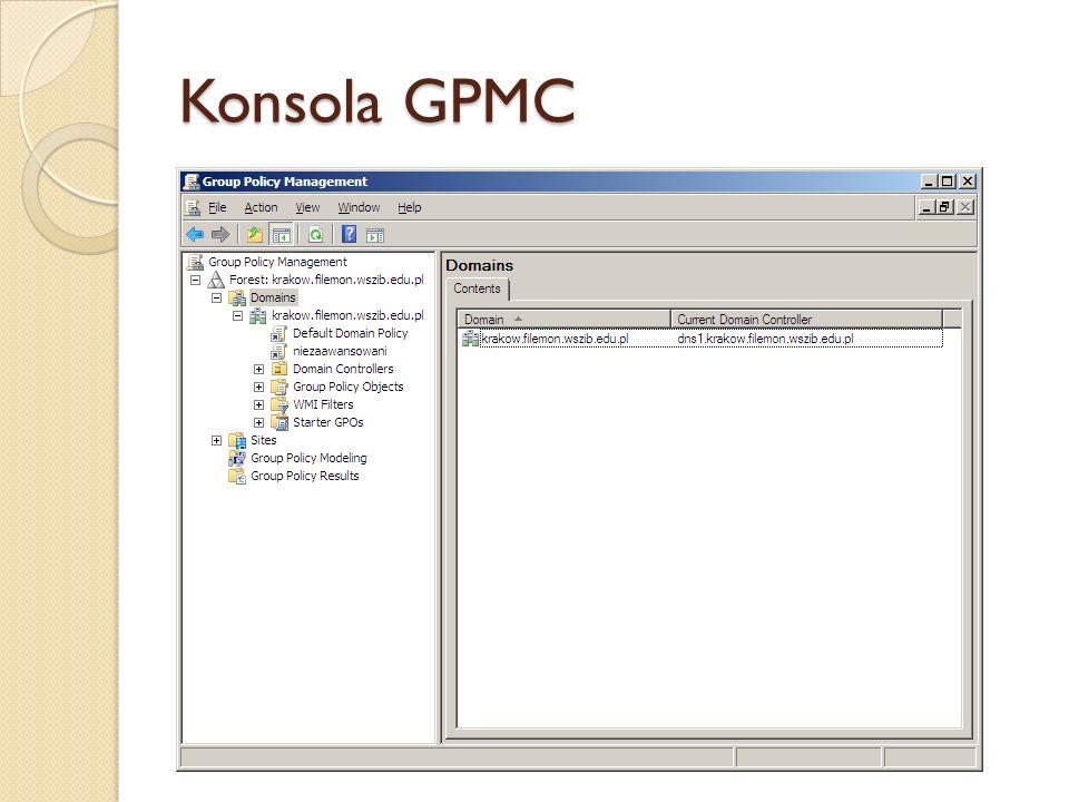 Konsola GPMC