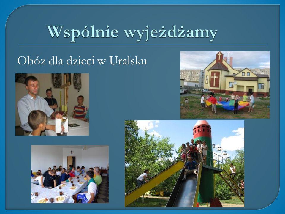 Obóz dla dzieci w Uralsku