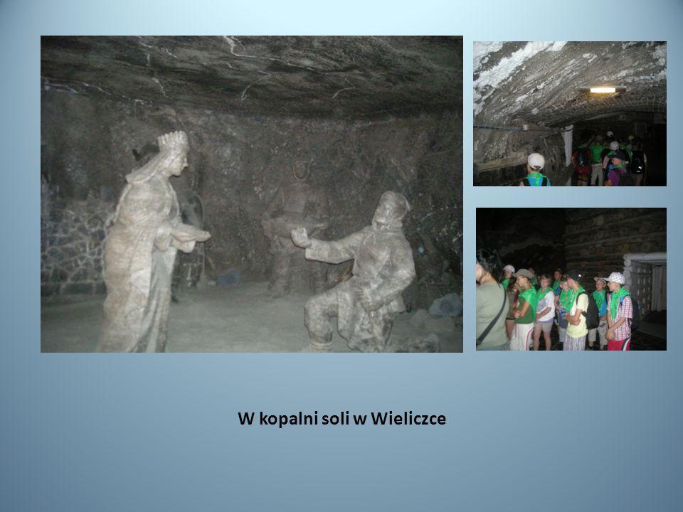 W kopalni soli w Wieliczce