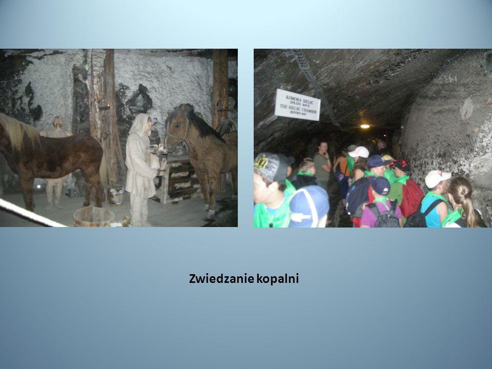 Zwiedzanie kopalni