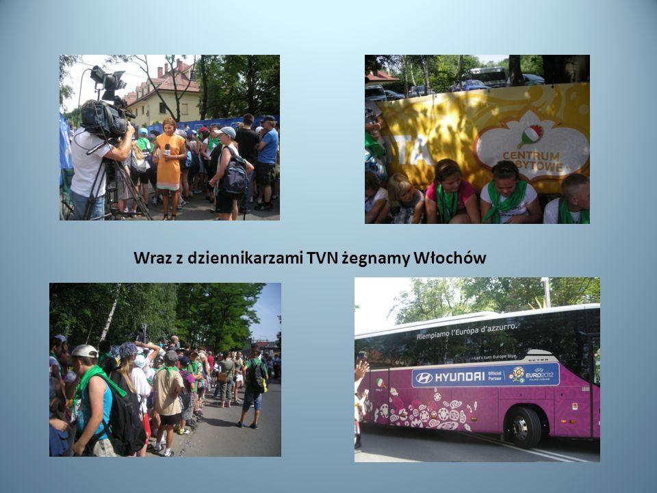 Wraz z dziennikarzami TVN żegnamy Włochów