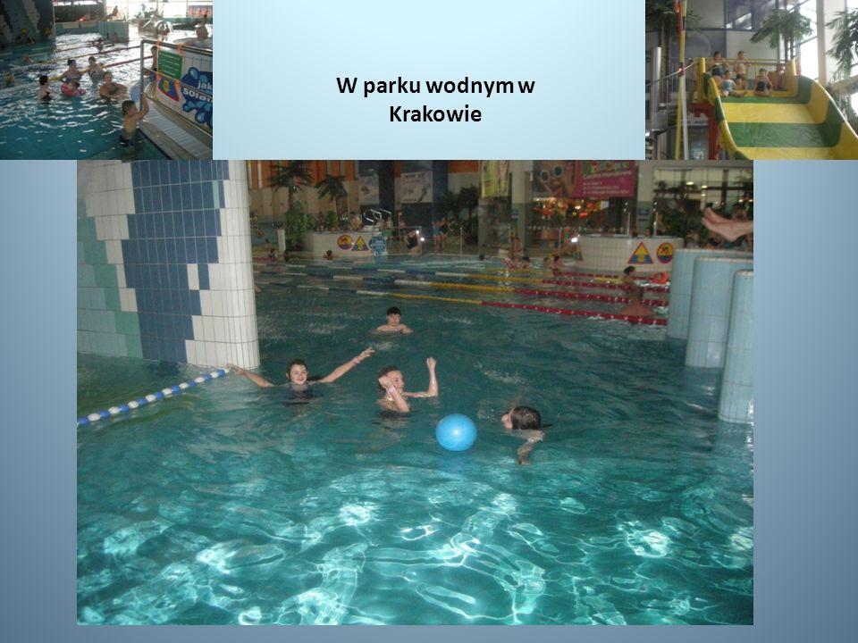 W parku wodnym w Krakowie