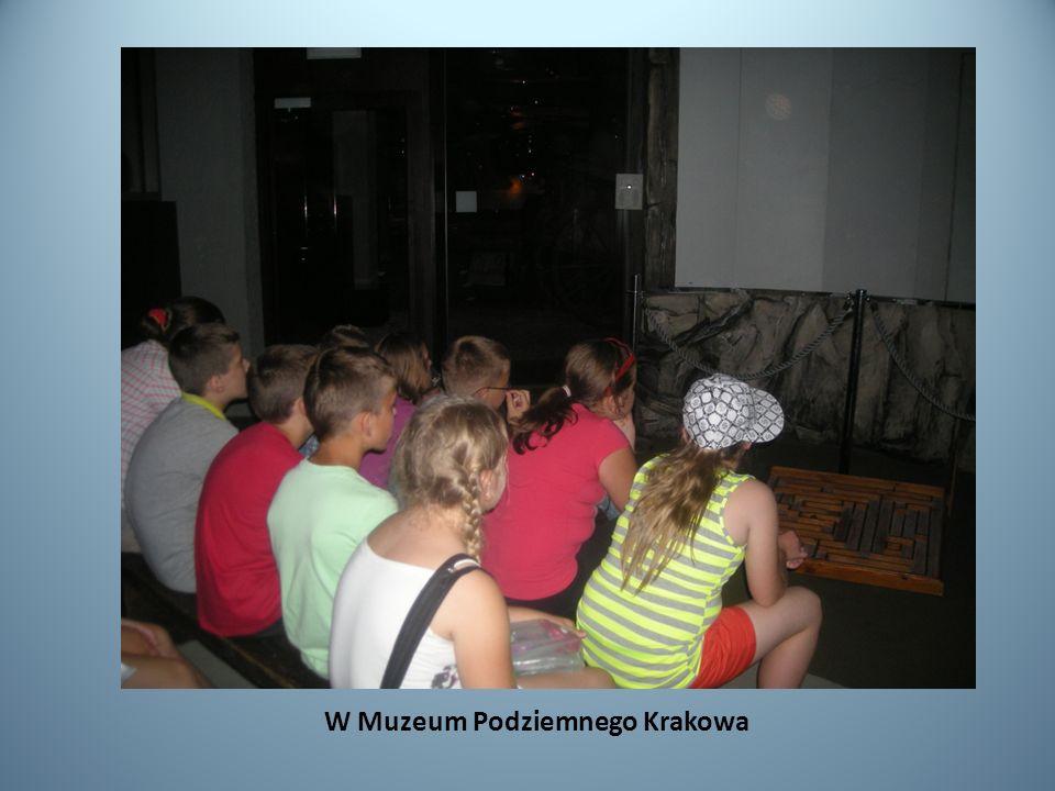 W Muzeum Podziemnego Krakowa