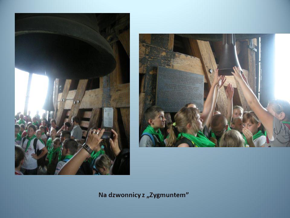 Na dzwonnicy z Zygmuntem