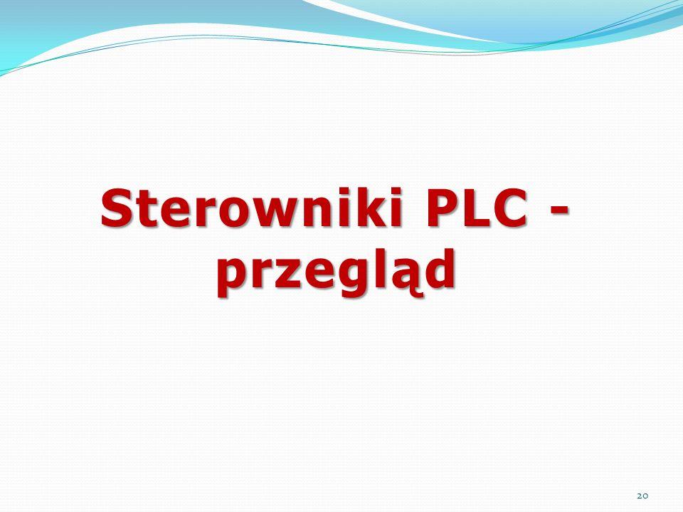Sterowniki PLC - przegląd 20