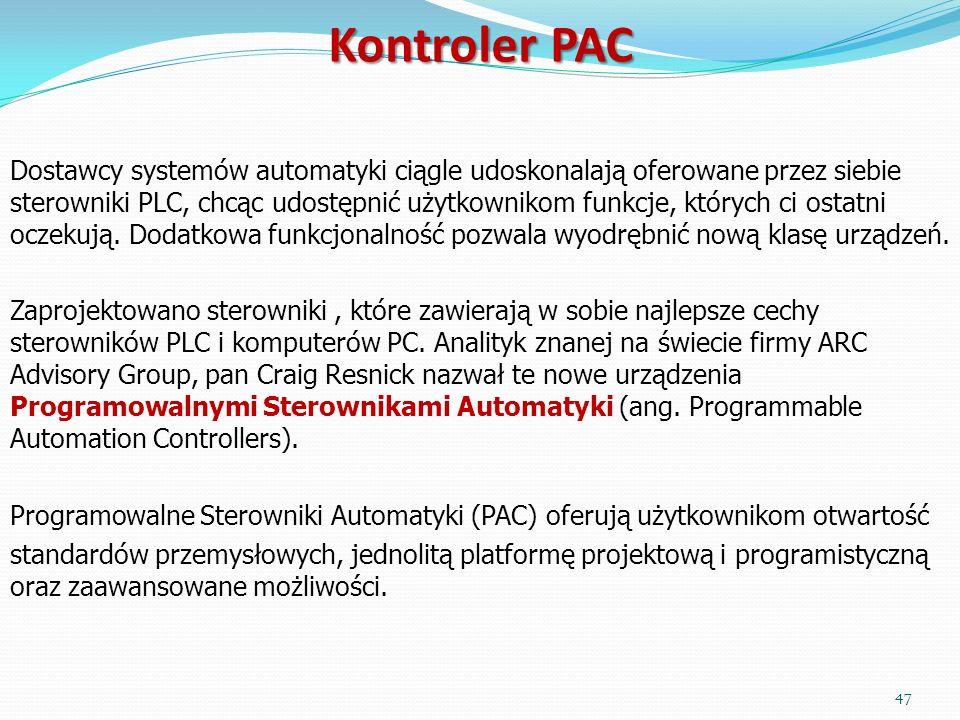 Dostawcy systemów automatyki ciągle udoskonalają oferowane przez siebie sterowniki PLC, chcąc udostępnić użytkownikom funkcje, których ci ostatni ocze