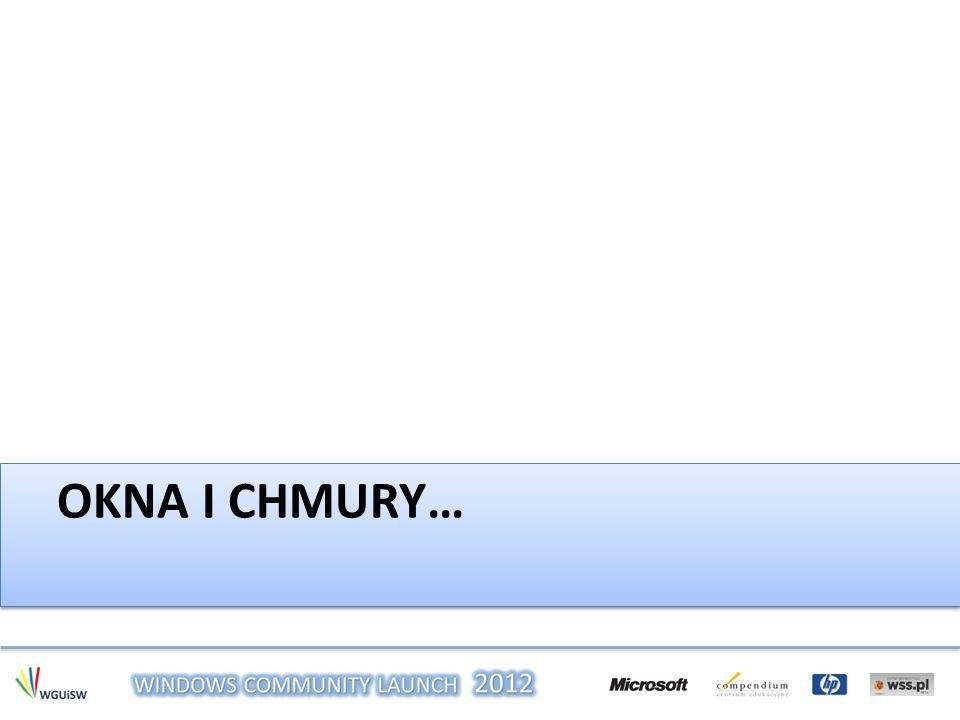 OKNA I CHMURY…